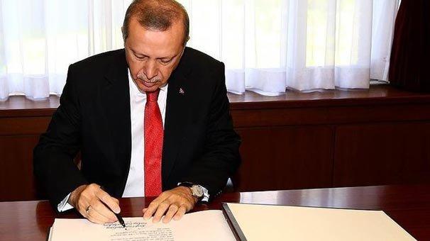 Cumhurbaşkanı Erdoğan iki üniversiteye rektör atadı!