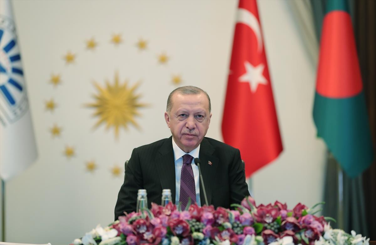 Cumhurbaşkanı Erdoğan'dan yerli aşı açıklaması: Tüm insanlığın istifadesine sunacağız