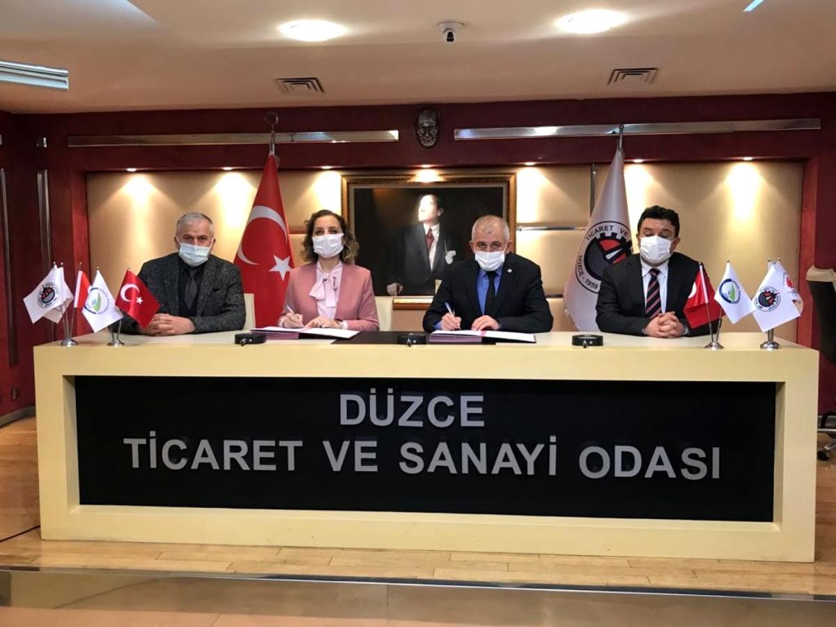 Son dakika haber: Düzce Üniversitesi ve DTSO yeni bir iş birliği protokolüne daha imza attı