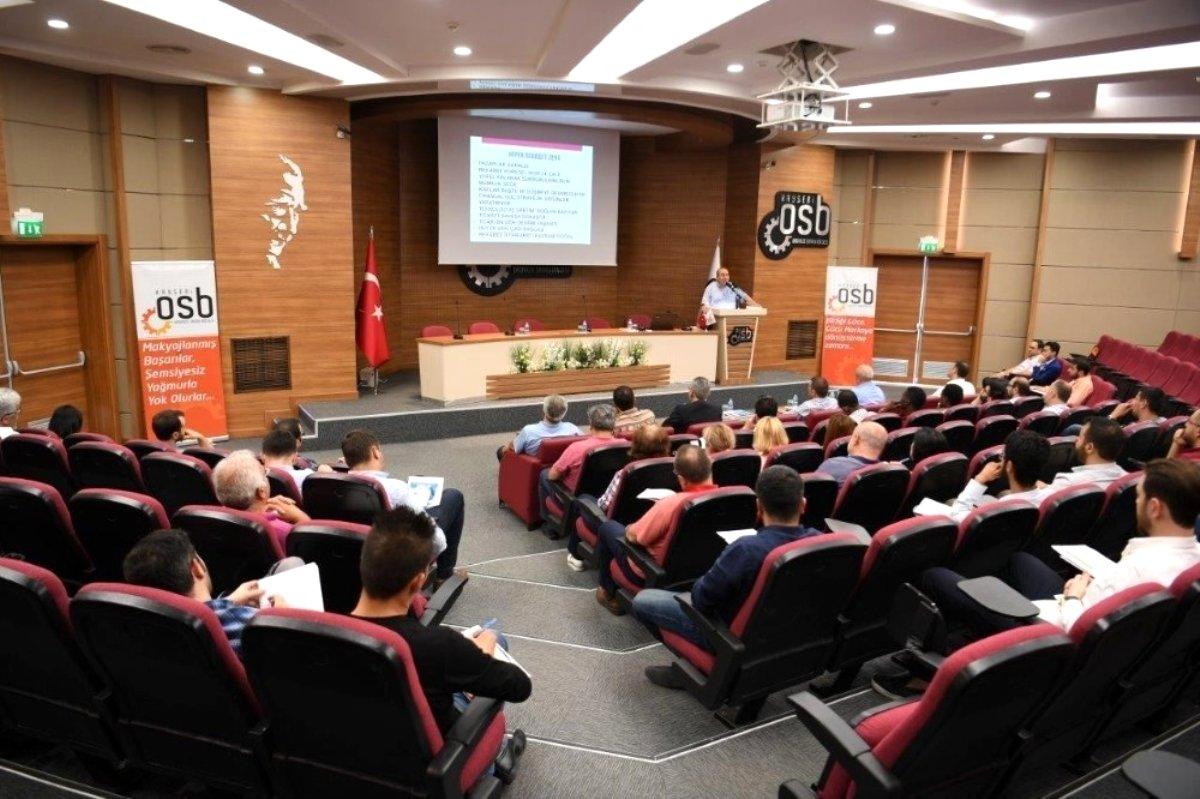 Son dakika haberi... Kayseri OSB Dış Ticaret İstihbarat Merkezi Sanayicinin Gücüne Güç Katıyor